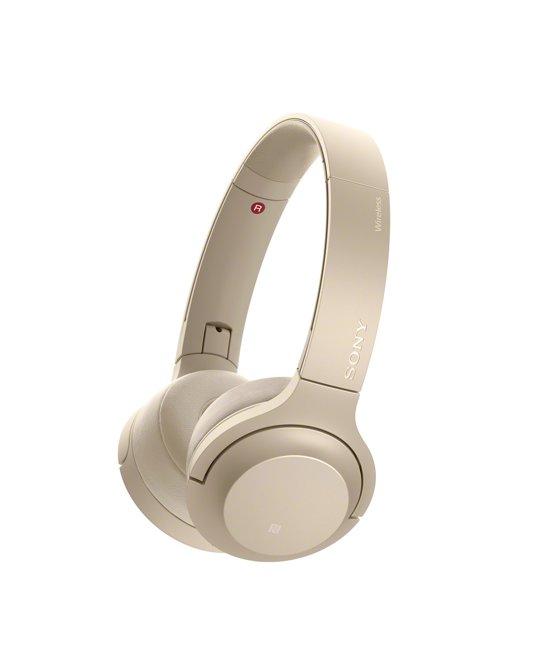 Sony h.ear WH-H800 - Draadloze on-ear koptelefoon - Goud
