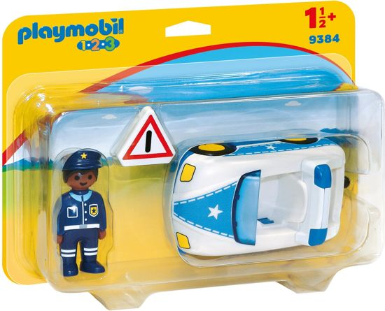 PLAYMOBIL 123 Politiewagen - 9384