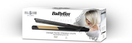 BaByliss Creative Gold ST410E - Stijltang - Goud