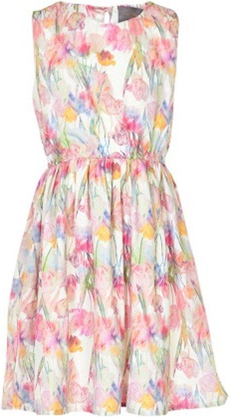 Creamie - jurk - zonder mouwen - Blush - Maat 128