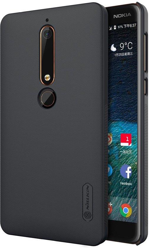 cran Dépoli Noir Dur Couvercle Du Boîtier Pour Nokia 6 8VoA1xSwY