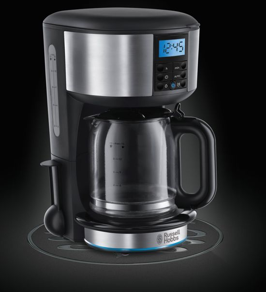 Russell Hobbs Buckingham Zilver Koffiezetapparaat