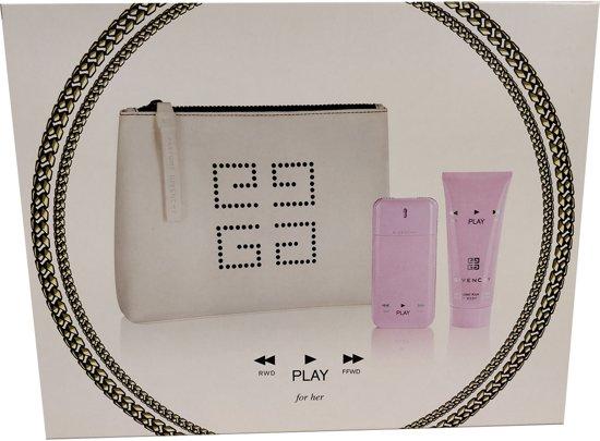 Givenchy - Eau de parfum - Play for her 50ml eau de parfum + 100ml bodylotion - Gifts ml