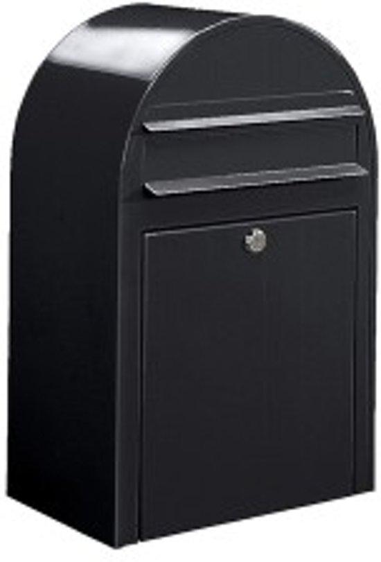 postkast zwart 50x32x21cm
