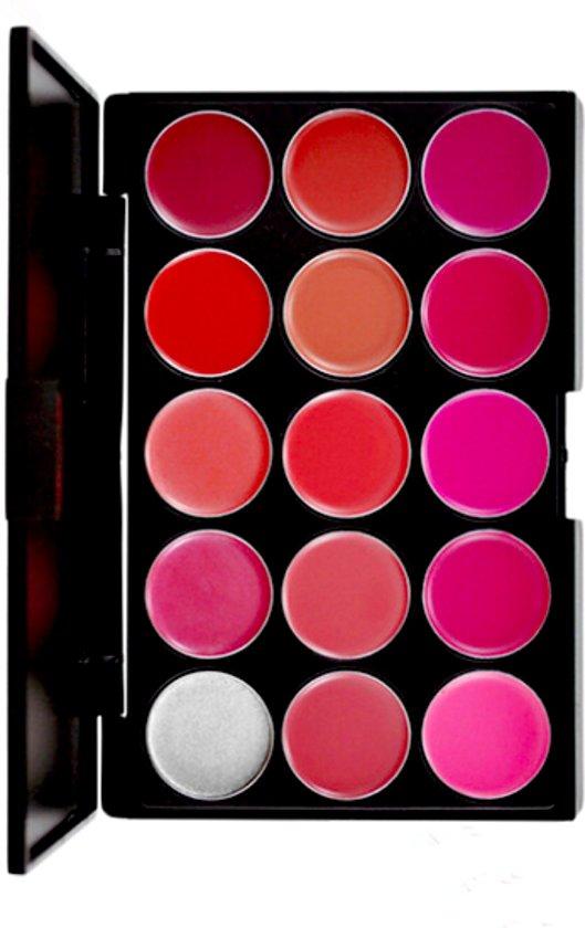 Lipstick & Lipgloss Palet - PRO Lip Palette