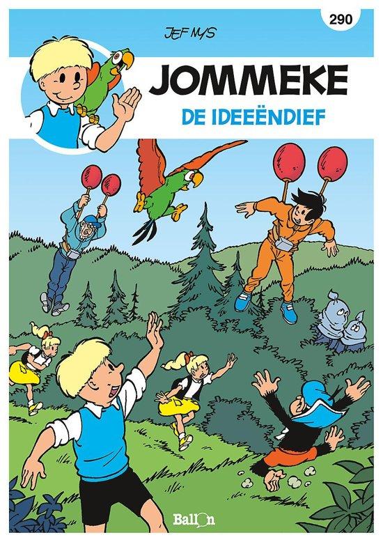 Bol Com Jommeke 290 De Ideeendief Philippe Delzenne
