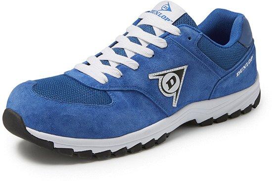 Dunlop Protective Footwear Flying Arrow Blauw Lage Veiligheidssneakers S3 Uniseks