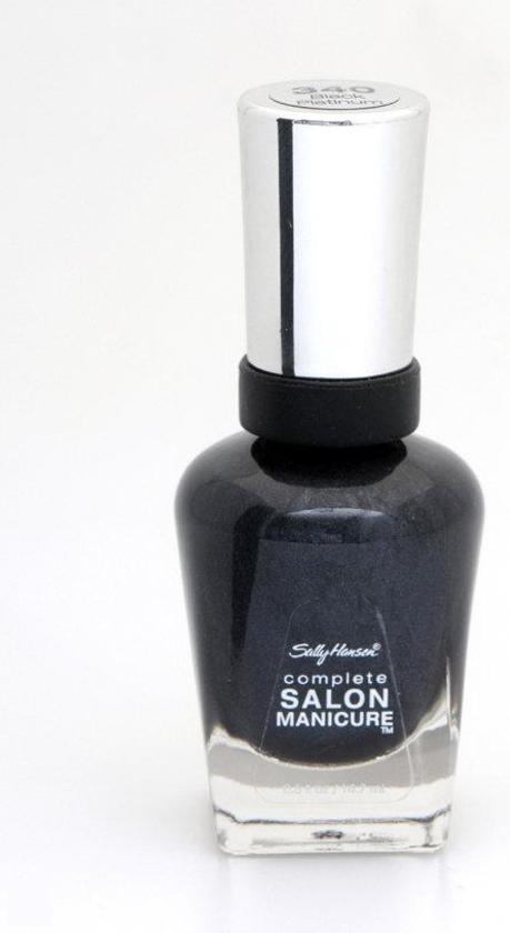 Sally Hansen Complete Salon Manicure - 340 Black Platinum - Nagellak