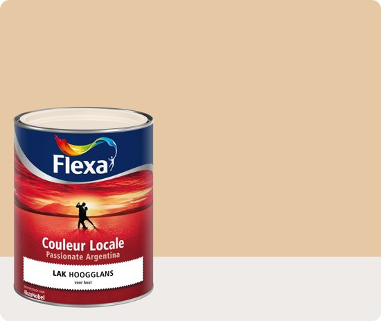 Flexa Couleur Locale - Lak Hoogglans - Passionate Argentina - Dawn - 2545 - 750 ml