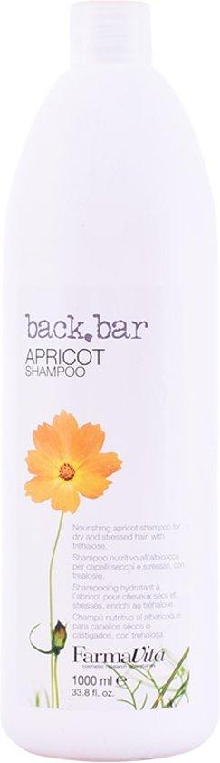 Adolfo Dominguez Farmavita Back Bar Apricot Shampoo 1000ml