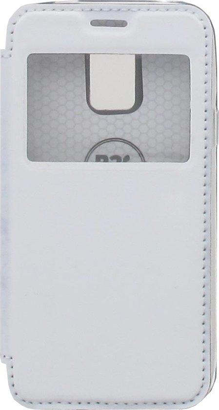Couvercle Rabattable Blanc Avec Fenêtre Pour Le Samsung Galaxy S5 Mini gKyTsLuJv