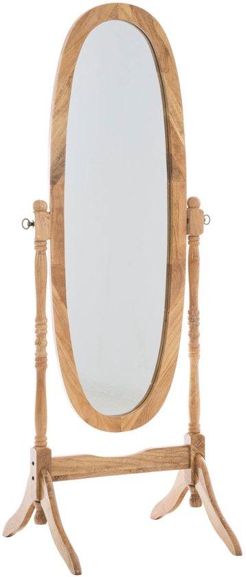 Bloomingville staande spiegel stylts hout zwart spiegels for Staande spiegel hout