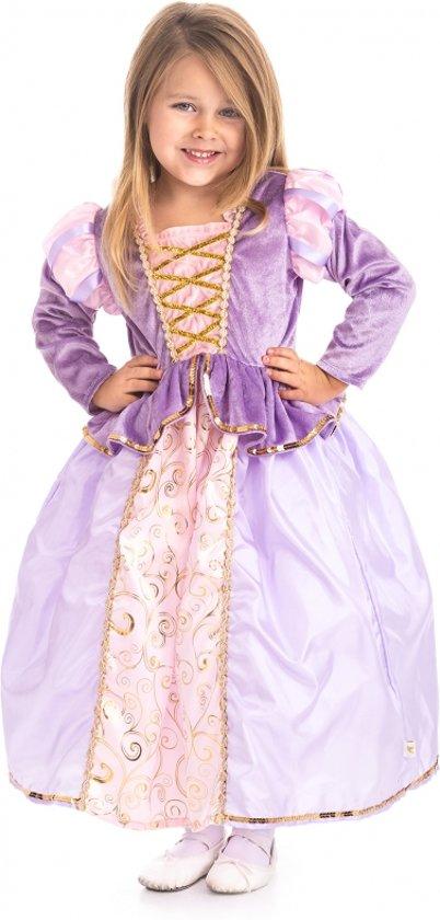 Rapunzel jurk - maat (XL) 128/140 - 7/9 jaar