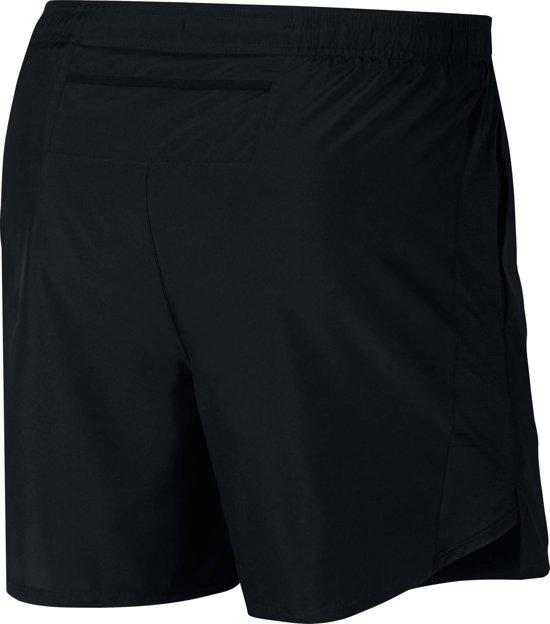 Nike Challenger Short 5In Bf Sportbroek Heren - Black/Black/(Reflective Silv) - Maat XXL