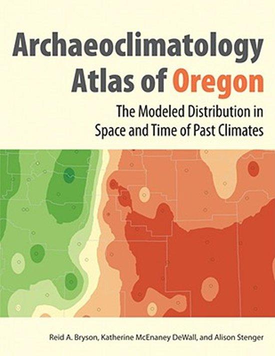 Archaeoclimatology Atlas of Oregon