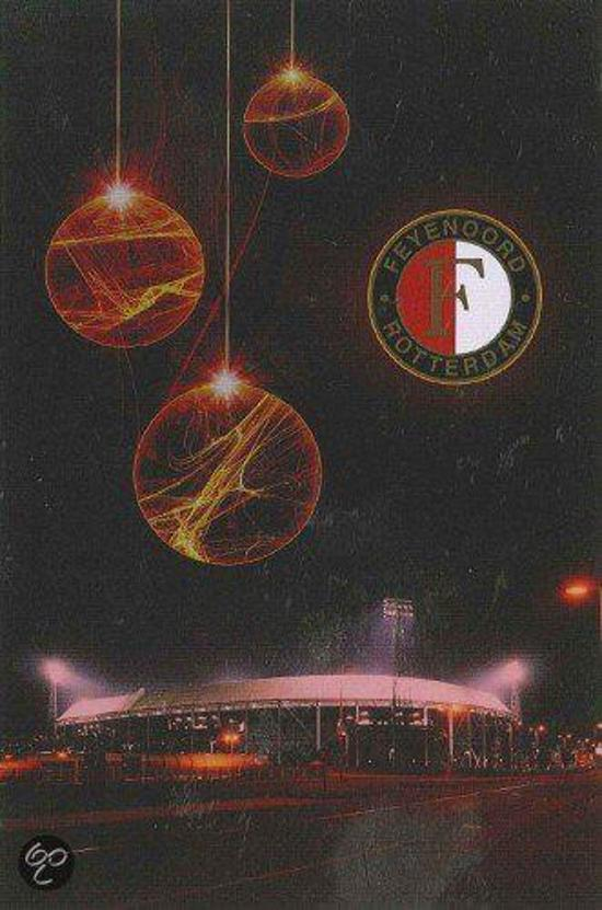 Bol Com Kerstkaarten Feyenoord De Kuip 6 Pack