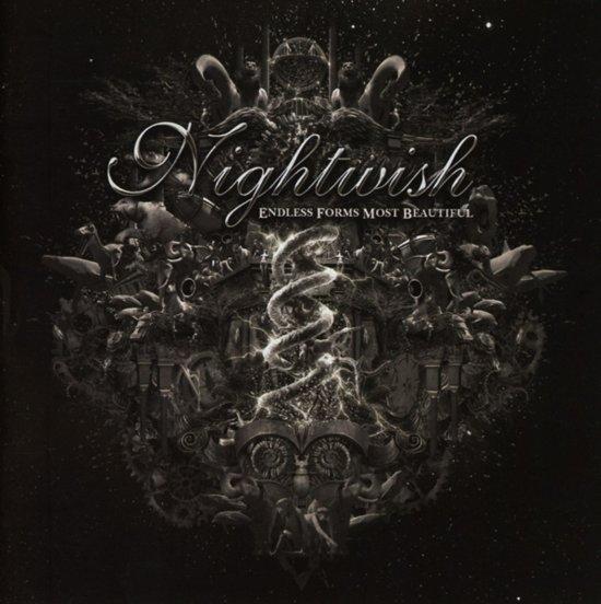 CD cover van Endless Forms Most Beautiful van Nightwish