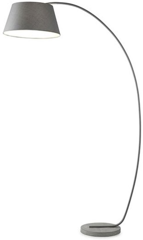 Bedwelming bol.com | Annecy Design Vloerlamp - Boog - Grijs - 195cm &BY79