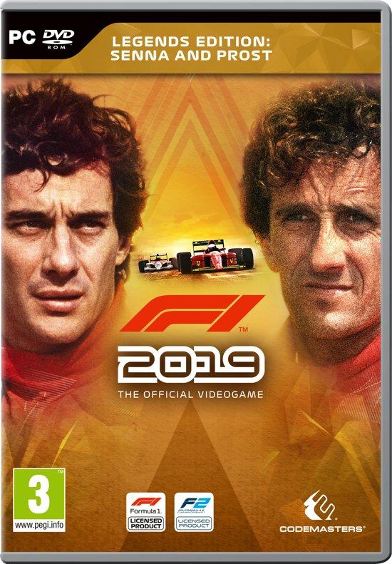 F1 2019 (Formule 1) Legends Edition - PC