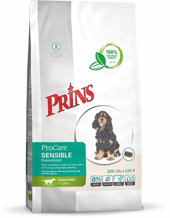 Prins Hypolallergic Sensible - Graanvrij - Hondenvoer - 12 kg