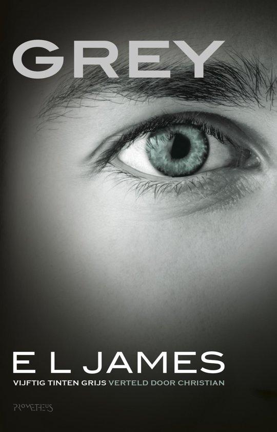 Boek cover Grey - Vijftig Tinten Grijs verteld door Christian van E L James (Onbekend)