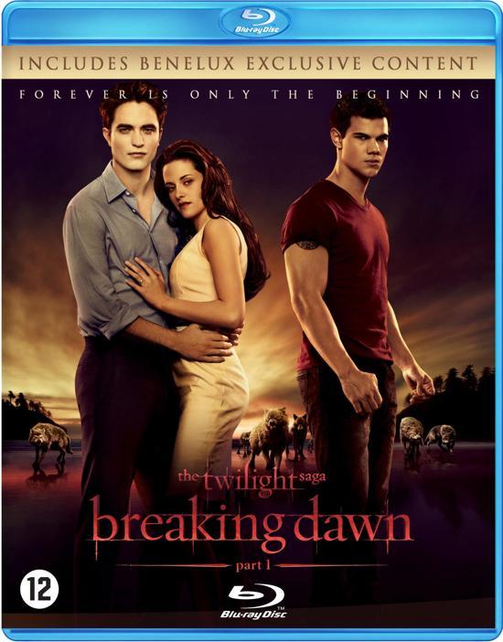 DVD cover van The Twilight Saga: Breaking Dawn - Part 1 (Blu-ray)