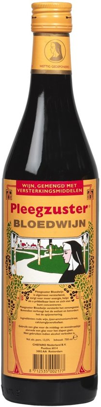 Pleegzuster Bloedwijn - 750 ml