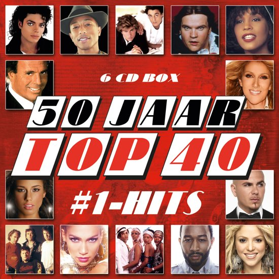 50 jaar top 40 cd bol.| 50 Jaar Top 40 #1 Hits, Top 40 | CD (album) | Muziek 50 jaar top 40 cd