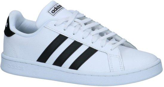adidas Grand Court Heren Sneakers - Ftwr White/Core Black - Maat 40.5