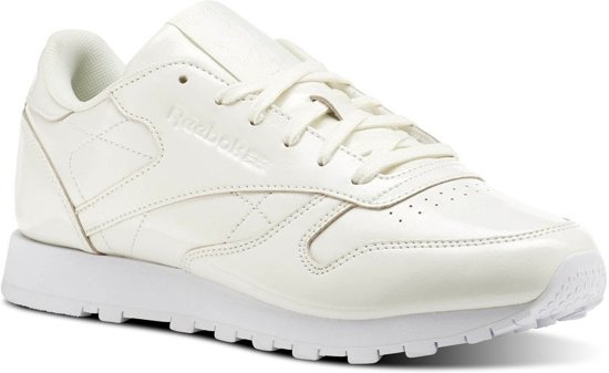 ee506a6b86b bol.com | Reebok Sneakers Classic Leather Patent Dames Wit Maat 37.5