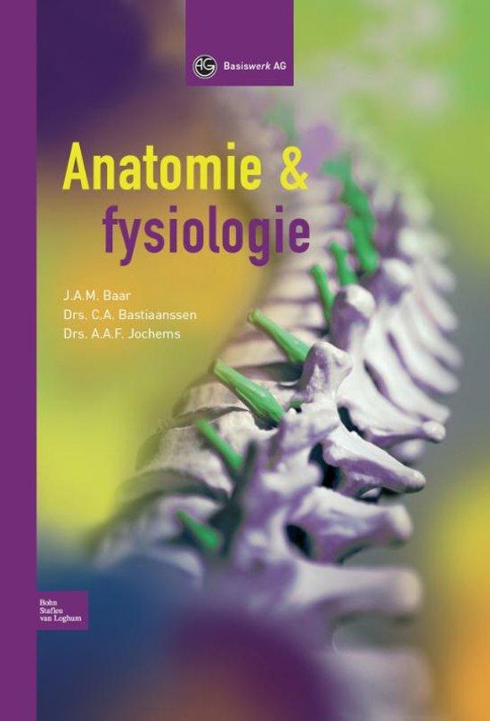 Anatomie en fysiologie mbo 4