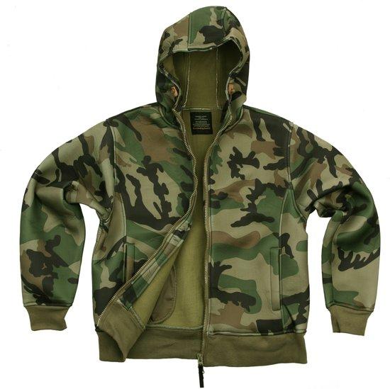 Hooded Camo Neoprene Vest Woodland Fostex qxv8Ad8w