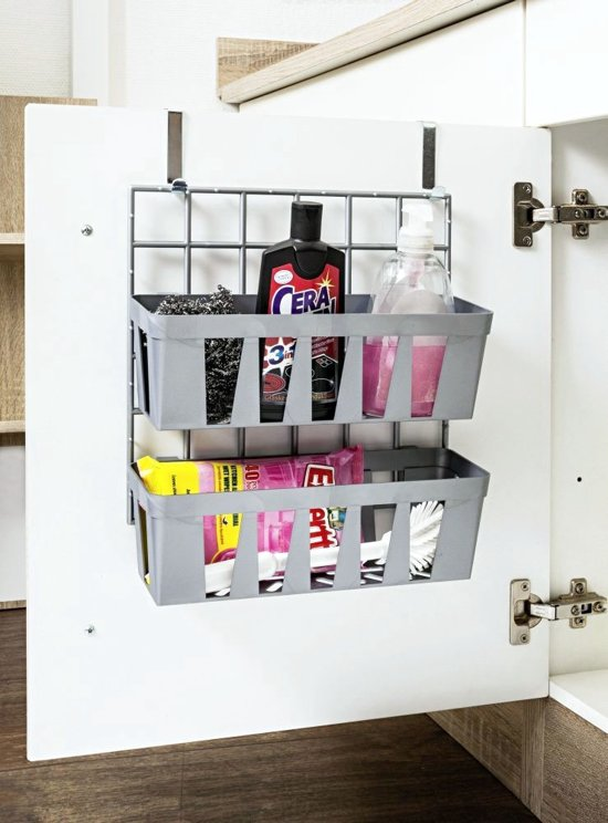 Makeup organizer diy