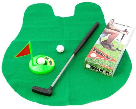Toilet golf spel