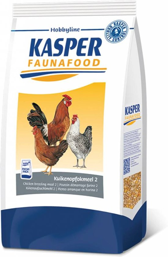 Kasper Faunafood Hobbyline Kuikenopfokmeel 2 - 4 KG
