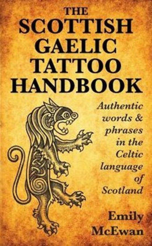 Bolcom The Scottish Gaelic Tattoo Handbook Emily Mcewan