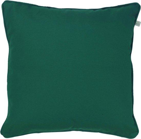Dutch Decor Kussenhoes Java 50x50 cm smaragd