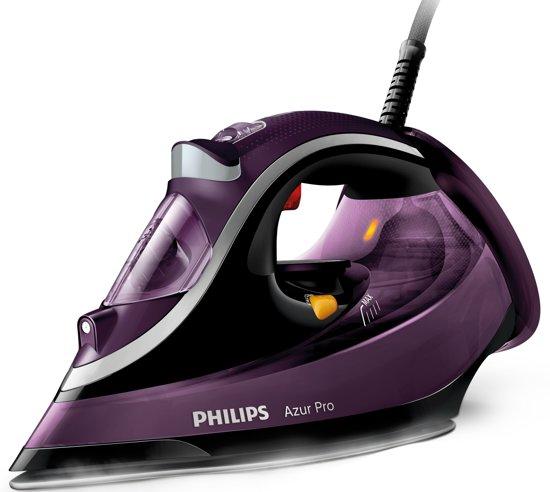 Philips Azur Pro GC4887/30 - Stoomstrijkijzer - Paars/zwart