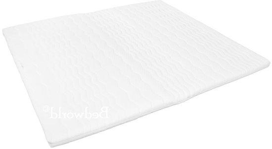 Bedworld Topper Oplegmatras - Koudschuim HR45 - 120x200 - 6 cm matrasdikte Medium ligcomfort