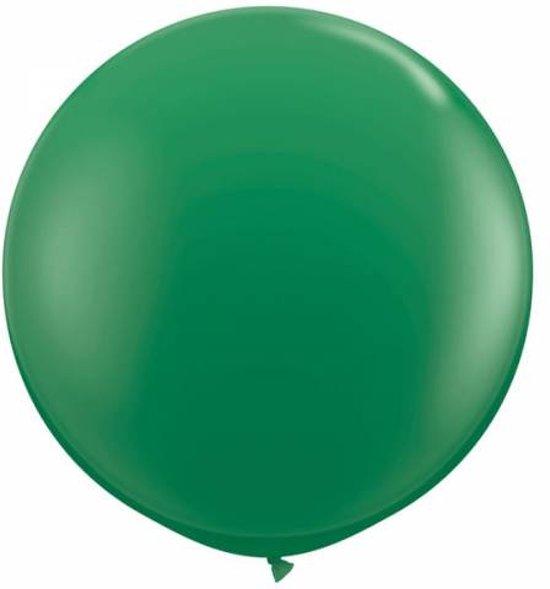 MEGA Topping ballon 90 cm Groen
