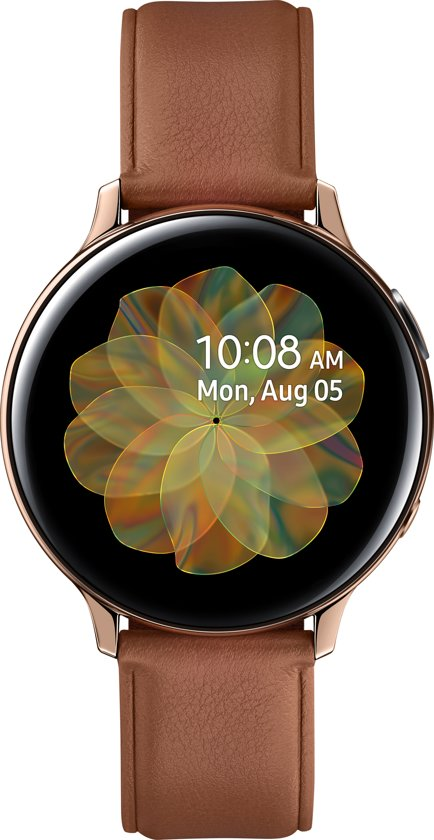 Samsung Galaxy Watch Active2 - Stainless steel - 44mm - Goud