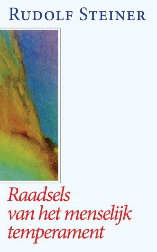 Boek cover Raadsels Van Het Menselijk Temperament van Rudolf Steiner (Paperback)
