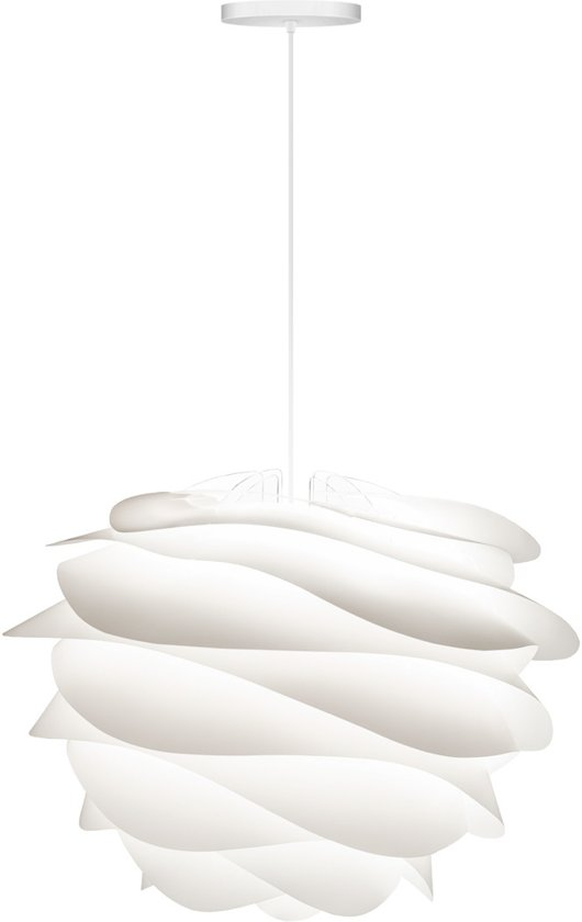 VITA Carmina - Hanglamp - Ø48 cm - Wit - incl. wit koord