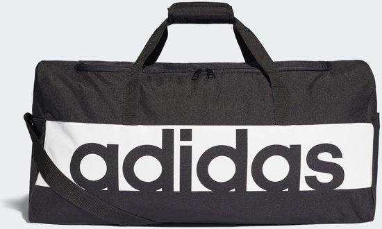 6c84bed2b61 adidas Linear Performance Teambag L Sporttas Unisex - Black/White/White