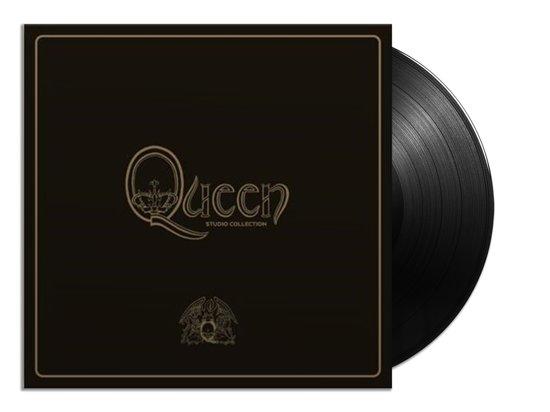 CD cover van Queen Studio Collection (Boxset) (Coloured Vinyl) van Queen