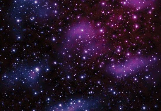 Fotobehang Stars Cosmos Universe | L - 152.5cm x 104cm | 130g/m2 Vlies