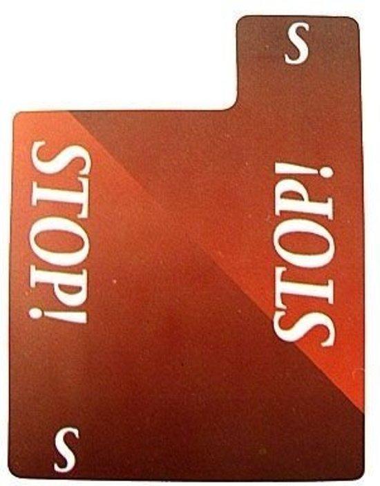 Afbeelding van het spel Stopkaart 100% plastic