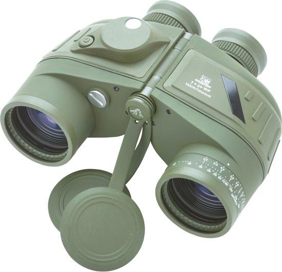 MacGyver - Verrekijker 7x50 WP met kompas en afstandsmeter - Incl gratis tasje - Ook voor brildragers - 3 jaar garantie