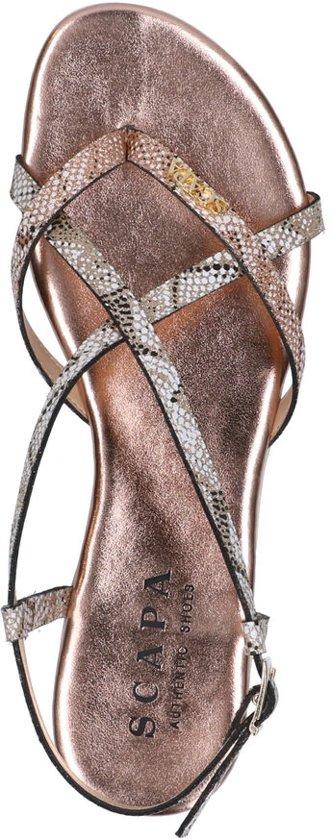 Scapa Roze Sandalen Dames 38