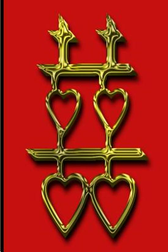 Bol Wedding Journal Double Happiness Symbol Chinese Gold Red